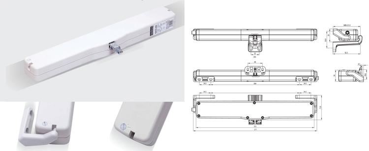 Motori elettrici per vasistas - Contatti magnetici per finestre vasistas ...